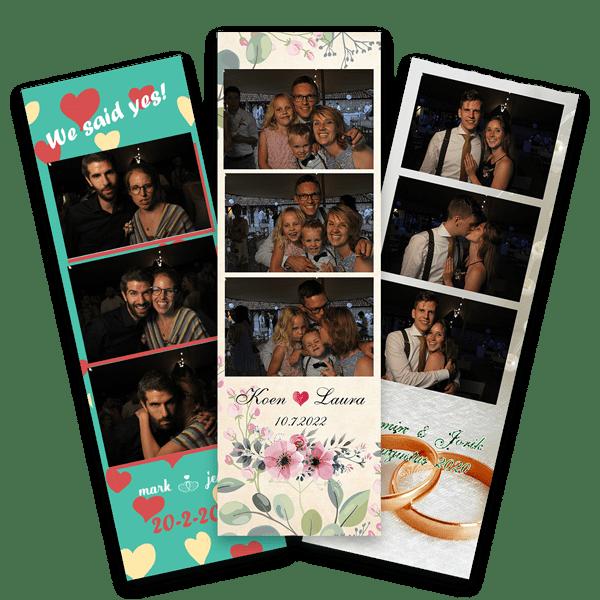 photobooth huren en de strips